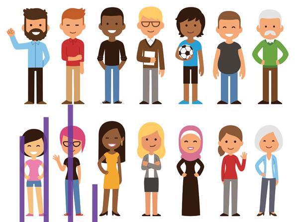 Diminution de la présence des personnes perçues comme issues de la diversité dans les programmes TV