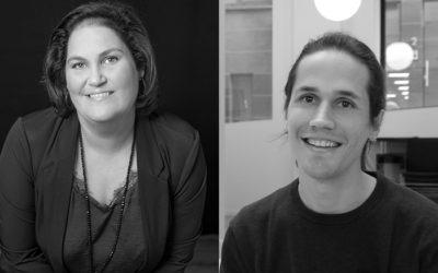 (entretien) Camille Laville et Thomas Piérard, chercheur.euse.s au CSA