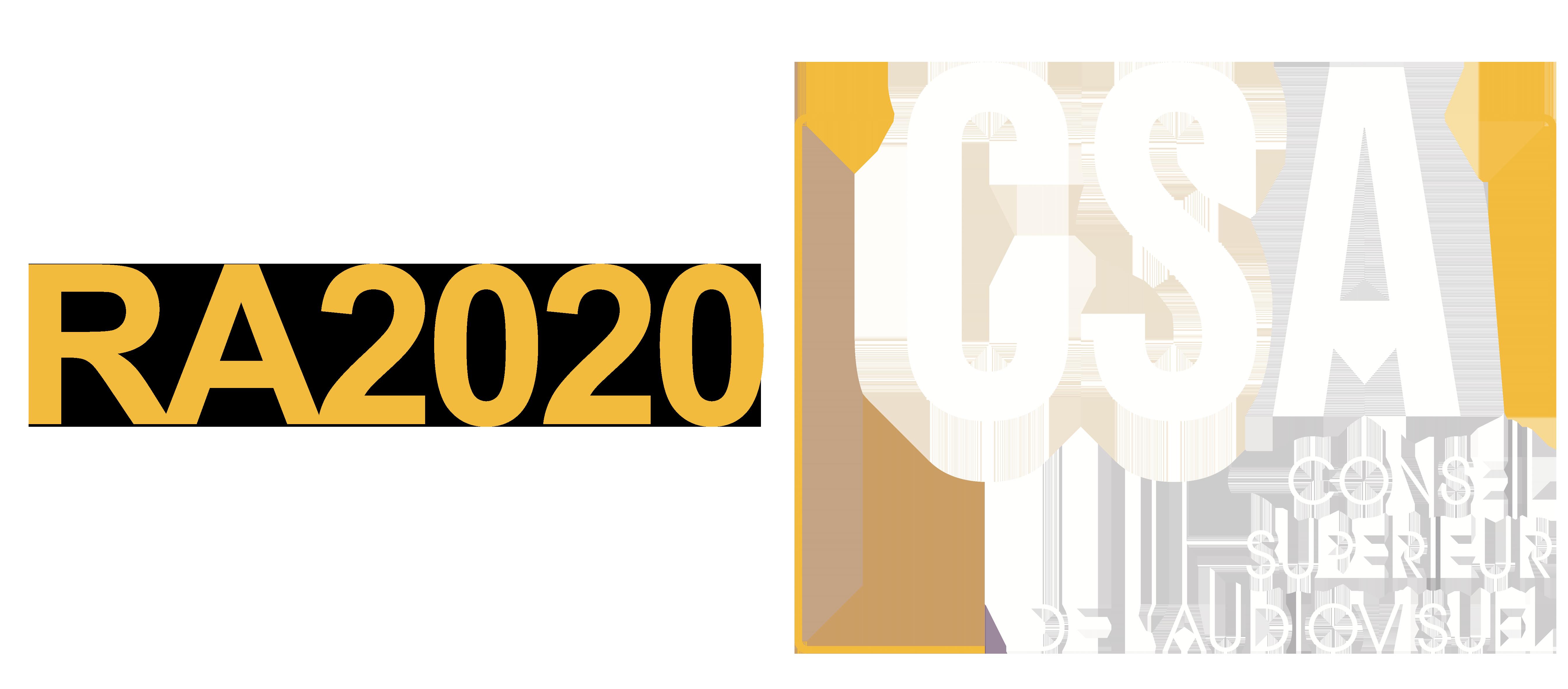 Rapport d'activités 2020 du CSA belge